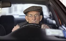 senior driving image